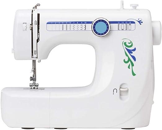 Máquina de coser-14 Patrones de puntada Pedal eléctrico Doble ...