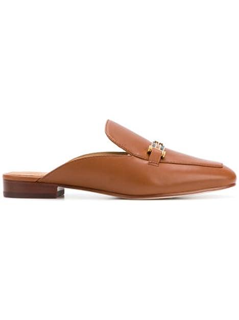 Tory Burch - Mocasines de Piel para Mujer, Color Marrón, Talla 43: Amazon.es: Zapatos y complementos