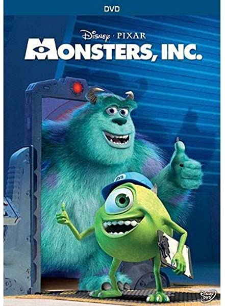 Amazon Com Monsters Inc John Goodman Billy Crystal James Coburn Steve Buscemi Mary Gibbs Bob Peterson Jennifer Tilly Bonnie Hunt Frank Oz John Ratzenberger Daniel R Gerson Jeff Pidgeon Sam Penguin Black Steve