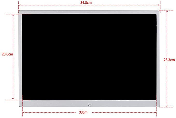 TONGTONG 15 Inch Digital Photo Frame,HD 1080P 1280x800 high Resolution Video Player with USB and SD Card Slots