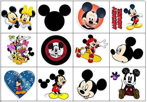 Mickey Tatuajes Temporales: Amazon.es: Hogar