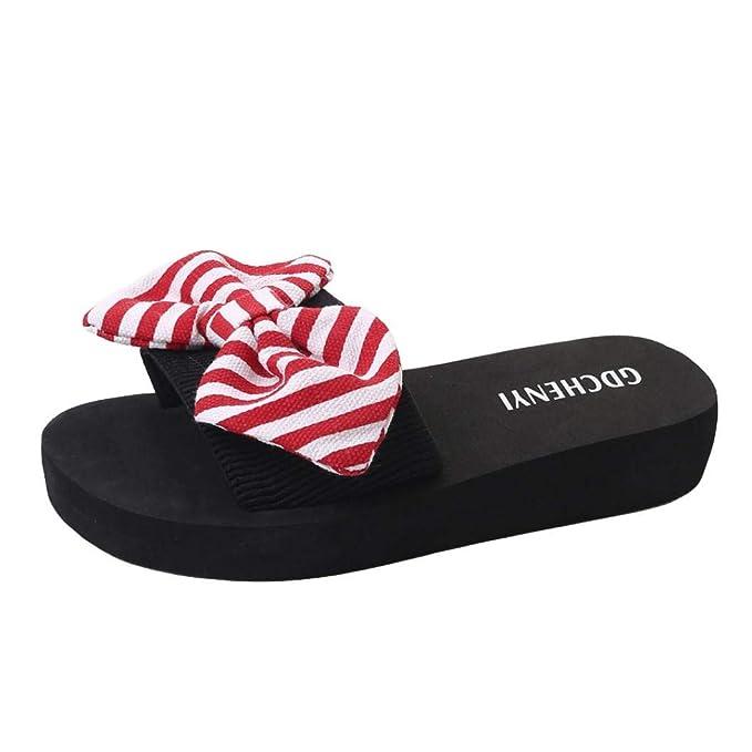 watch f5091 1af4b Scarpe da Spiaggia per Donna, Honestyi ® Donne Pantofole ...