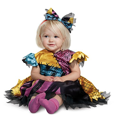 Disguise Sally Classic Toddler Child Costume, Multi Color, Size/(2T)