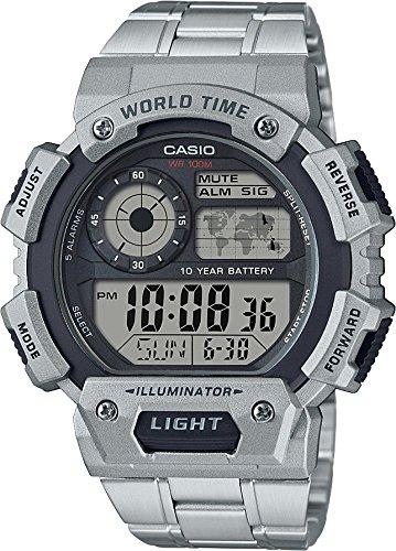 Ae Para Plata 1400whd 1avcf Reloj HombreColor Casio xBdCrWoe