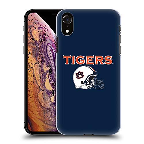 (Official Auburn University AU Helmet Logotype Hard Back Case Compatible for iPhone XR)