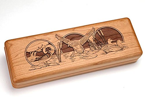 Heartwood Creations 10x4 With Scroll-Engraved Knife - Duck ()