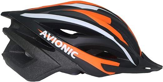 XYL Casco para Bicicleta Peso Ligero Proceso de una Pieza Sombrero para el Sol ventilación Seguridad Adecuado para Bicicleta de Campo Ciclismo de montaña MTB de Carretera Casco Hombres,Orange: Amazon.es: Hogar