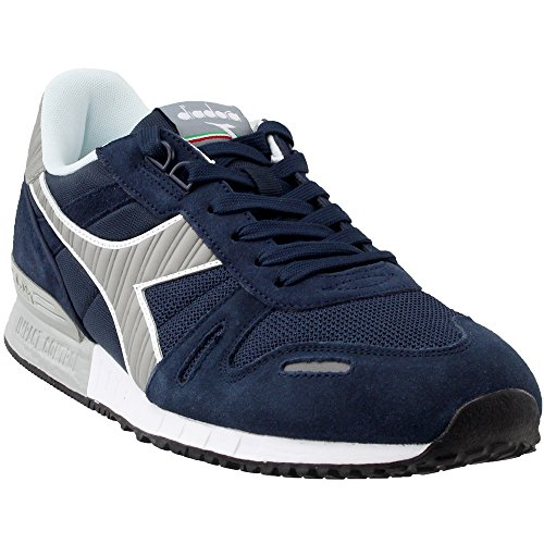 Diadora Men's Titan II Running Shoe (9.5 D(M) US, Blue Nights/Paloma/Blue Nights)