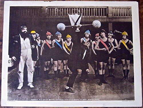 UP IN ALF'S Advance - ORIGINAL 1919 LOBBY CARD POSTER - RARE MACK SENNETT SILENT