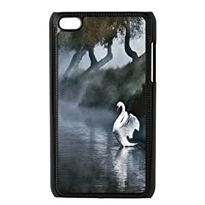 JenneySt Phone CaseWhite Swan - Ballet Dance FOR IPod Touch 4th -CASE-1