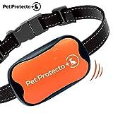 Cheap Pet Protecto+ Bark Collar [New Version] Humanely Stops Barking with Sound and Vibration. NO Shock, Harmless and Humane. Small Dog Bark Collar, Medium Dog Bark Collar