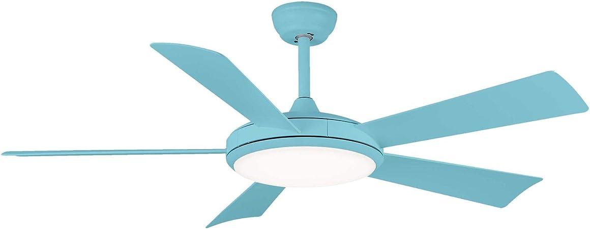 Sulion Ventilador de Techo Bernat - Motor DC: Ultra-silencioso y bajo Consumo (Azul Claro): Amazon.es: Hogar