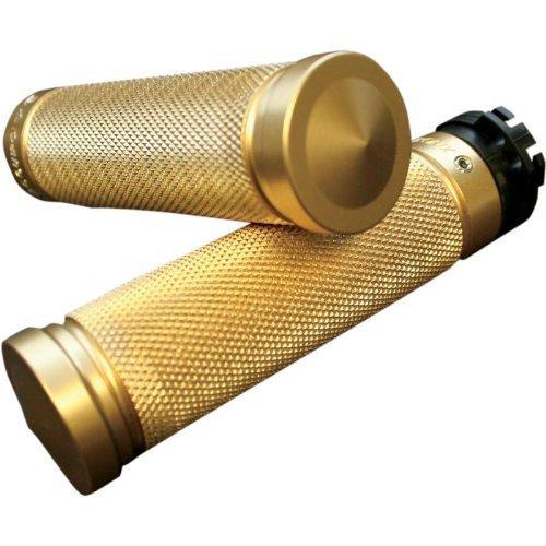 Brass Grips - Accutronix Brass Knurled Grips GR100-K5
