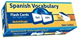 Quick Study-Spanish Vocabulary Flash Cards-1000 cards