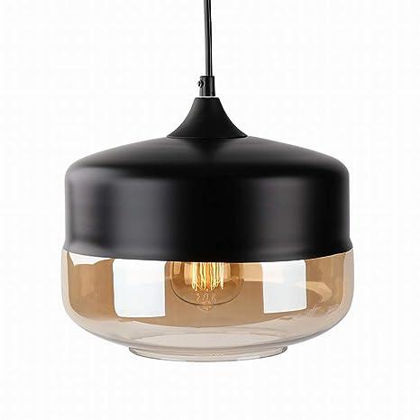 Exceptionnel Newrays Modern Single Blown Black Glass Pendant Lighting Ceiling Light For Kitchen  Island Lighting Fixtures     Amazon.com