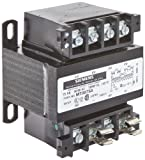 Siemens MT0075A Industrial Power Transformer, Domestic, 240 X 480, 230 X 460, 220 X 440 Primary Volts 50/60Hz, 120/115/110 Secondary Volts, 75VA Rating