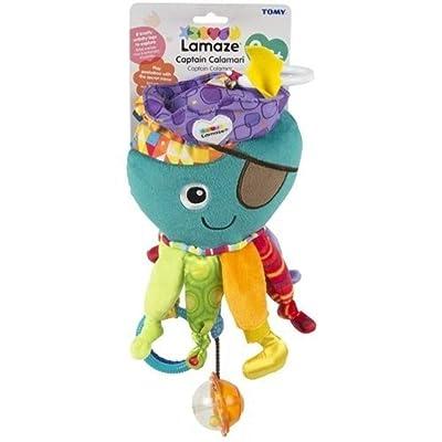 Lamaze Clip on Toy, Captain Calamari : Car Seat Toys : Baby [5Bkhe0805987]