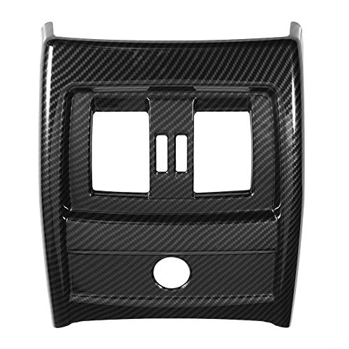- Acouto Carbon Fiber Interior Rear Seat Air Conditioning Vent Cover Trim for 3 Series F30 F34 2013-2018, for 4 Series F32 2014-2018