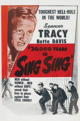 20, 000 Years In Sing Sing Movie Poster or Canvas