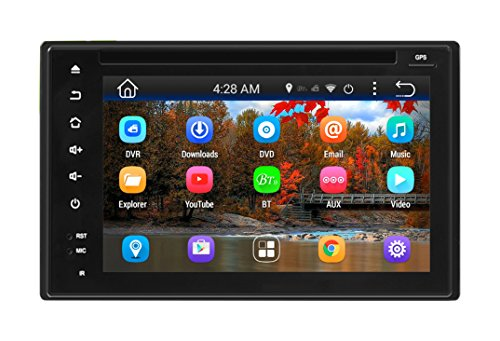 Pyle Car Stereo System Double DIN Android Headunit Receiver,, 6'' Touchscreen Display by Pyle