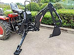 BHM5600 Backhoe Excavator Tractor Attachment + PTO PUMP + TANK