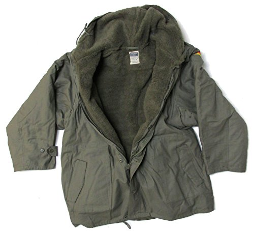 Military Uniform Supply Reproduction Bundeswehr German Army Parka with Liner - Large (52)