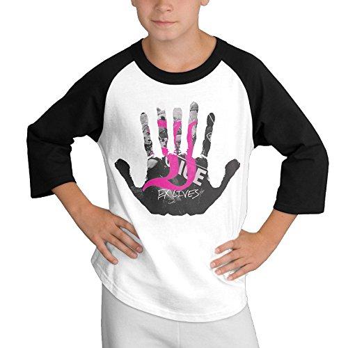 [BiuBiu Every Time I Die Embrace Teenagers Round Collar T-shirt SizeL] (Diy Popcorn Costume)
