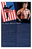 Chuck Norris Facts Novelty Celebrity Icon Humor Poster Print 24 by 36