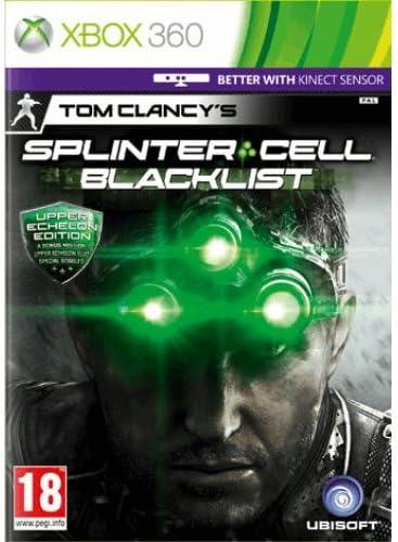 Xbox 360 Tom Clancys Splinter Cell Blacklist Upper Echelon Edition PREOWNED: Amazon.es: Videojuegos