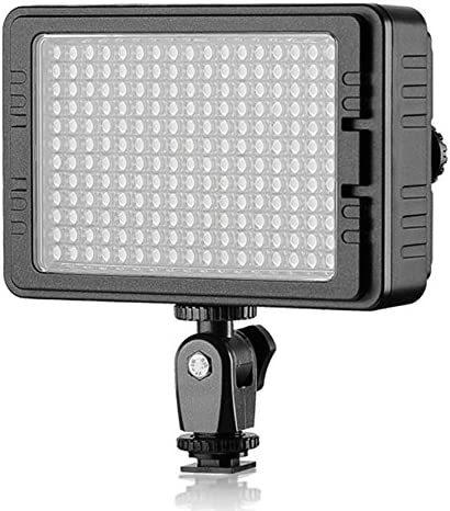 LED PT-C-204S Dimmable Ultra High Power Panel Digital Camera/Camcorder Video Light, LED Light for Canon, Nikon, Pentax, Panasonic,Sony, Samsung and Olympus Digital SLR Cameras