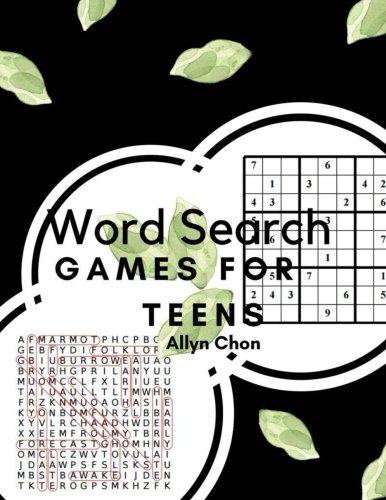 Download Word Search Games For Teens: With Sudoku And Word Search Brain Activity Books Large Print PDF