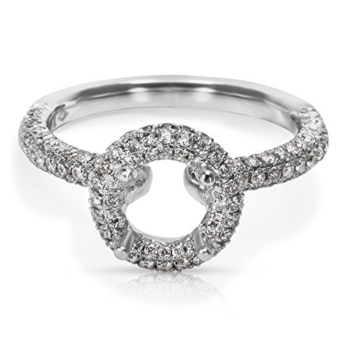 BRAND NEW Engagement Ring in 14K White Gold (0.72 CTW) by Loved Luxuries