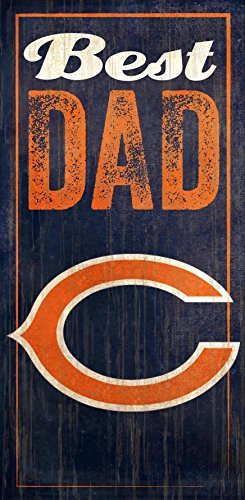 Fan Creations Chicago Bears Best Dad Sign -