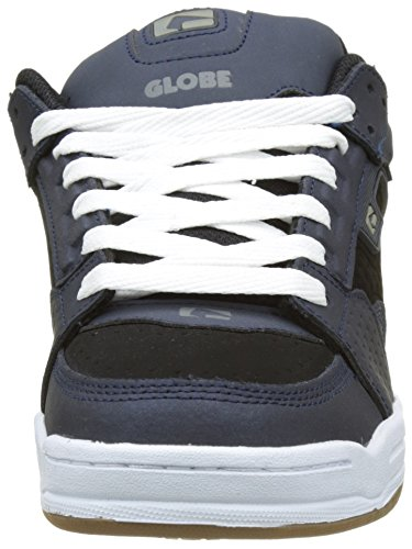 Globe Scribe, Herren Skateboardschuhe, Blau (Navy/black), 41 EU