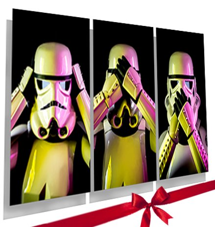 Star Wars Poster By Empire Prints. 3 Wise Stormtroopers Star Wars Picture...