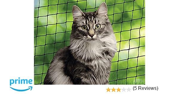 Beeztees Red de Balc/ón para Gatos Color Transparente Dimensiones 8x3 m 41084