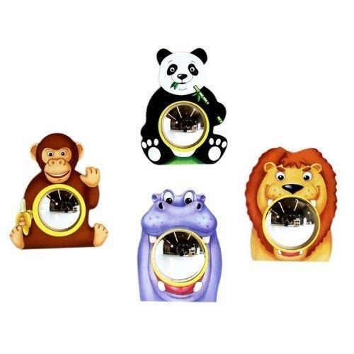 Anatex Animal (Anatex Animal Friends Wall Mirrors (Set of 4) by Anatex Toys)