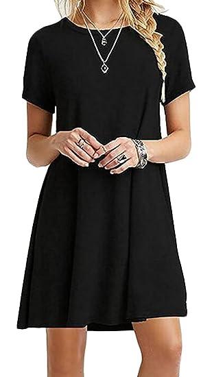 nanquan women clothes nq womens comfy loose o neck short sleeve