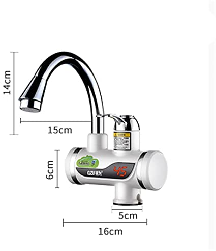 Mr. PengTM - Grifo eléctrico de agua caliente con calefacción rápida y caliente, calentador
