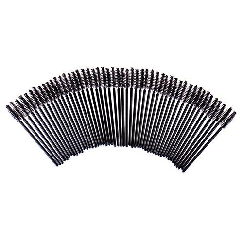 50 Pcs Makeup Brush Set Disposable Eyelash Mascara Wands Cos