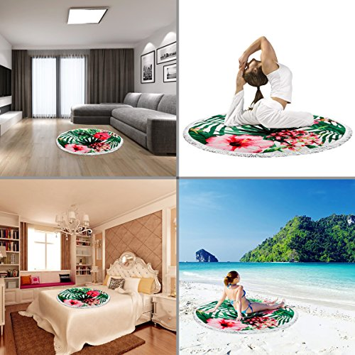 Gym Towel Online India: Beach Towel Ricdecor Indian Mandala Microfiber Large Round