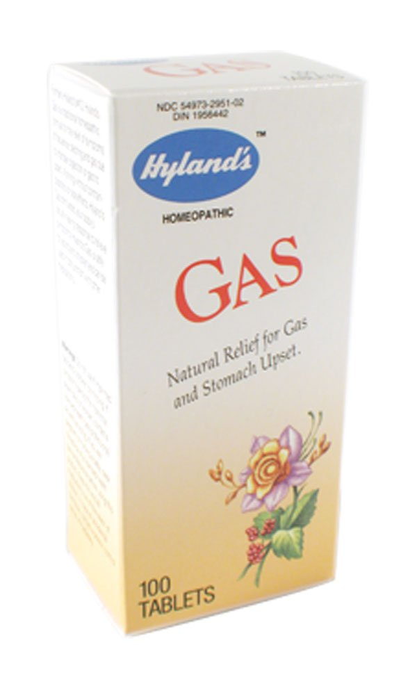 Hyland's Gas, Tablets, 100 Tablets (Pack of 3)
