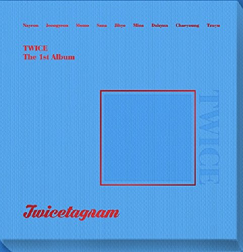 TWICE - Twicetagram (Vol.1) [C Matte ver.] CD+3 Photocard+Sticker+Pre-Order Benefit+1 Folded Poster+Extra Photocard Set