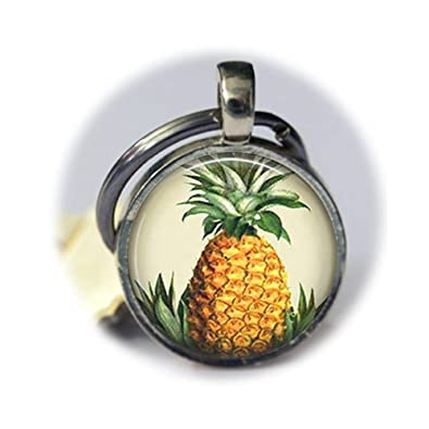 Llavero, diseño de piña hawaiana Hawaii de frutas tropicales ...
