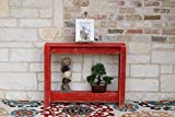 Cheap 36″ Red Console Table