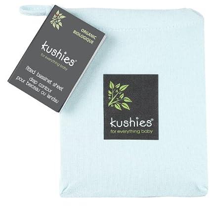 Kushies Organic Jersey Bassinet Fitted Sheet, Mocha SO832-68