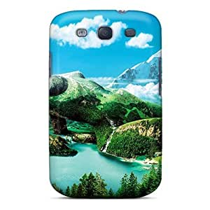 High Quality Richardcustom2008 3d Earth Girl Skin Cases Covers Specially Designed For Galaxy - S3