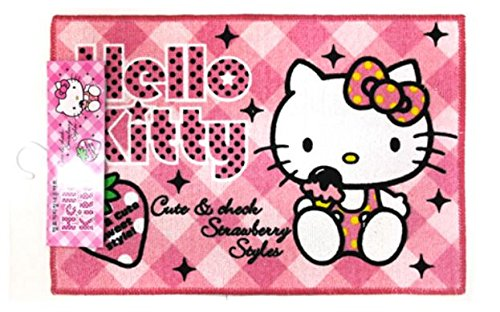 Hello Kitty Carpet (Hello Kitty Large Rug - with Strawberry 16