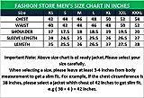 Fashion Store FS Lambskin Leather Men's Lambskin