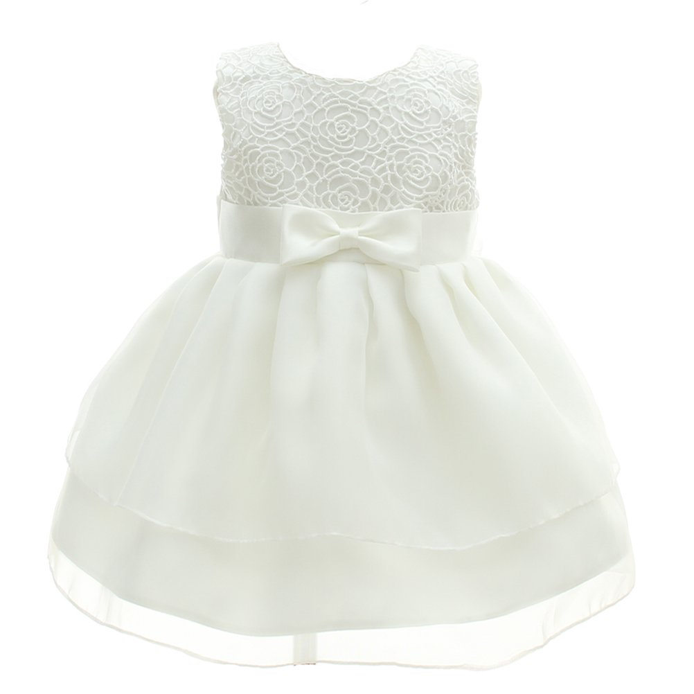 Baby Girl Dress Christening Baptism Gowns Christmas Formal Dress Moon Kitty
